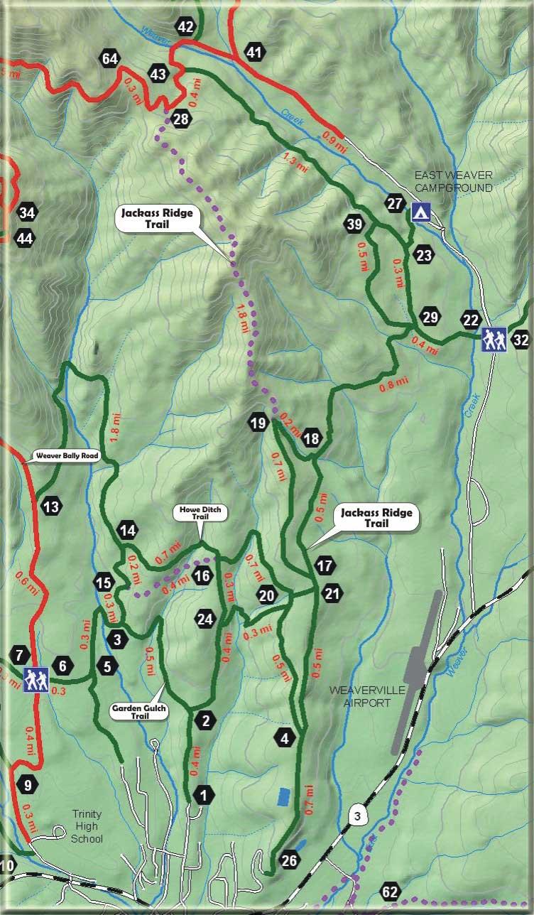 Jackass Ridge Trail